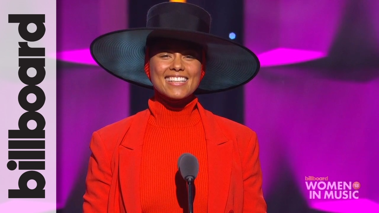 Billboard: Alicia Keys Introduces 'She is the Music' Initiative at WIM 2018