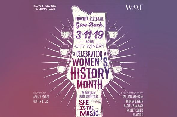 WME & Sony Music Nashville Present: A Celebration of Women's History Month - 3/11/19
