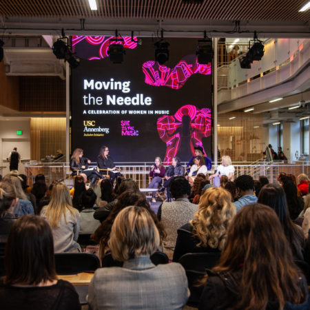 Women Tackle Discrimination at Annenberg Inclusion Initiative's 'Moving the Needle: A Celebration of Women in Music' Panel